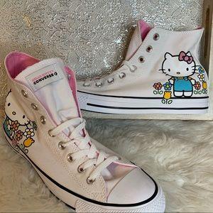 Converse Hello Kitty High Top White NWOB